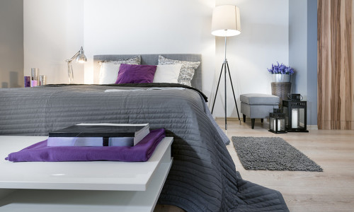 Modern-Home-Bedroom with bed